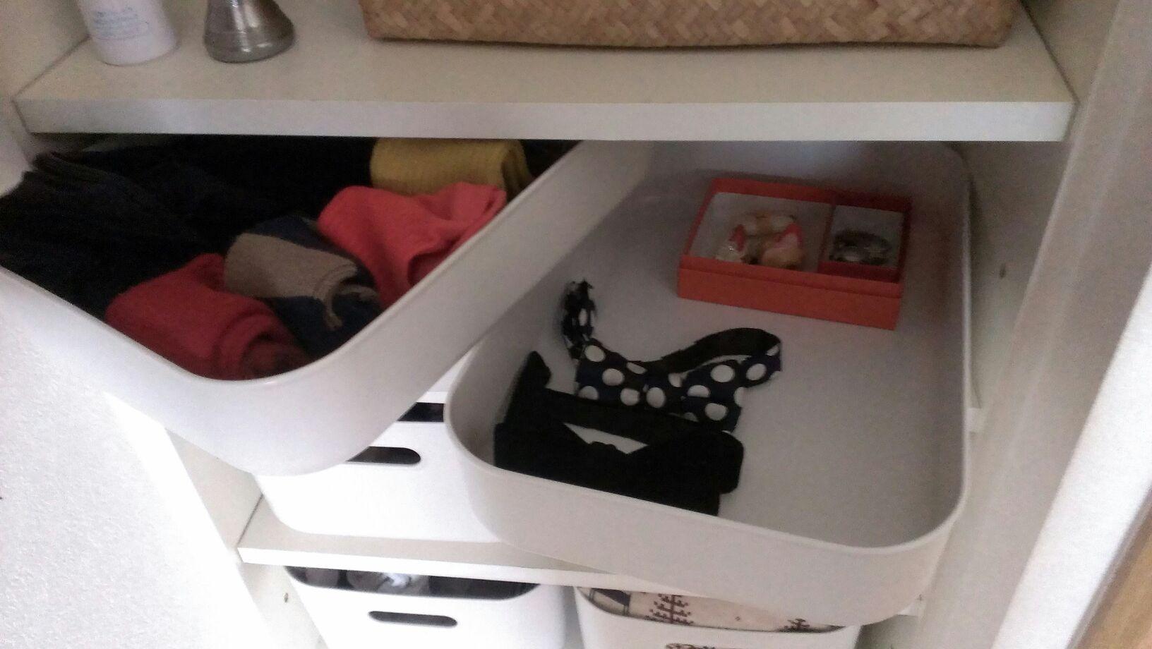 靴下類とアクセボックス