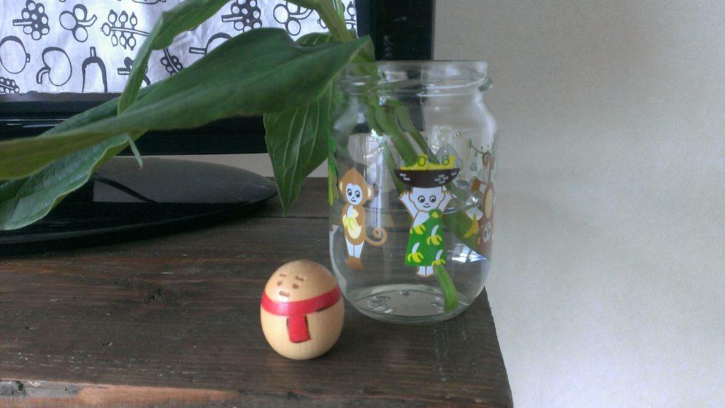 芍薬の花瓶