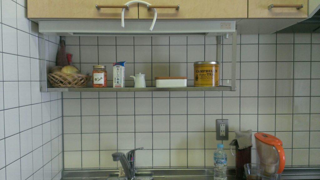 調理器具はシンク下へ