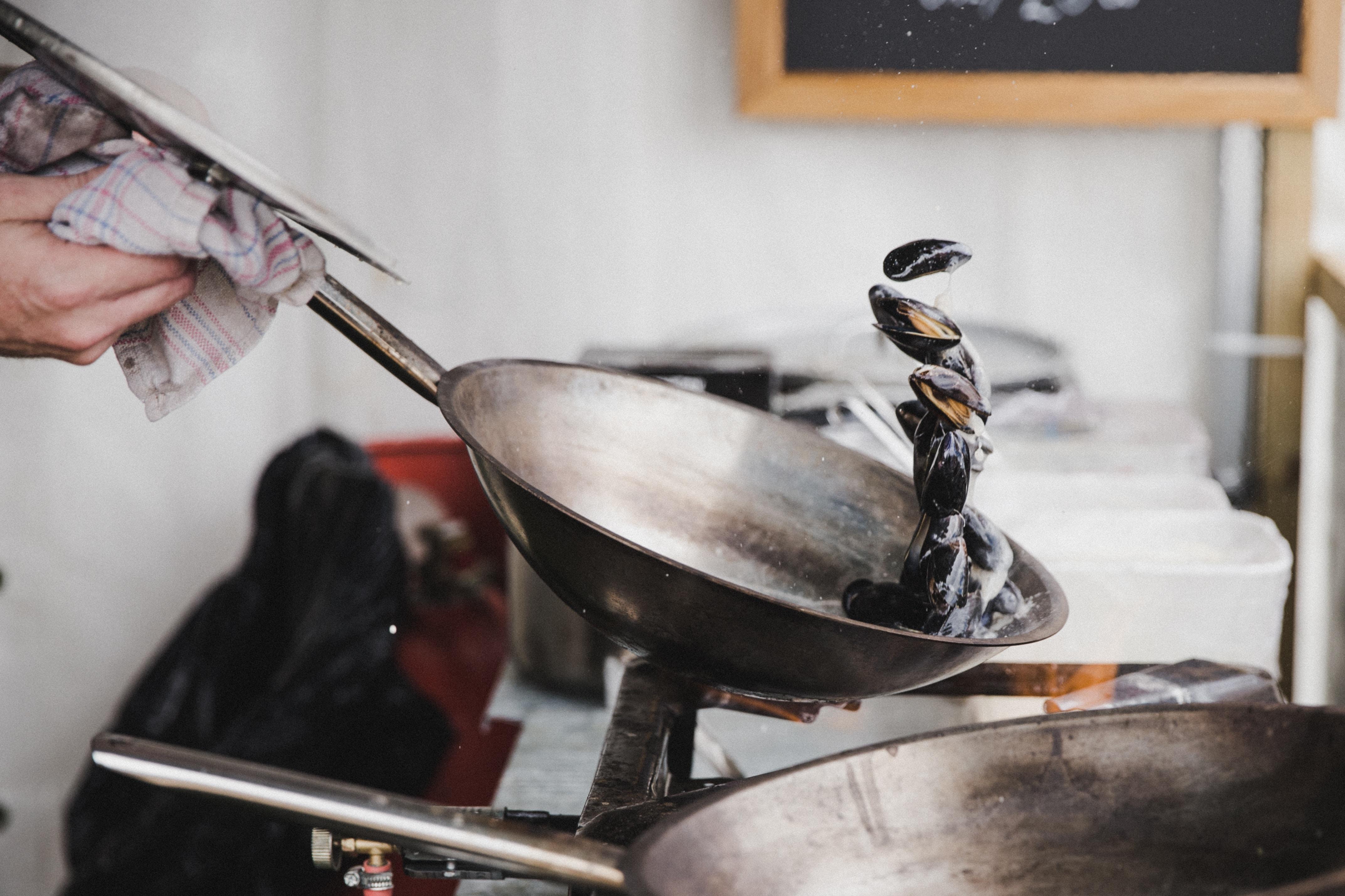 台所片付け、調理器具編