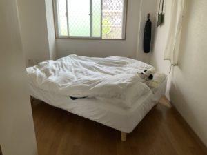 ベッドの移動②